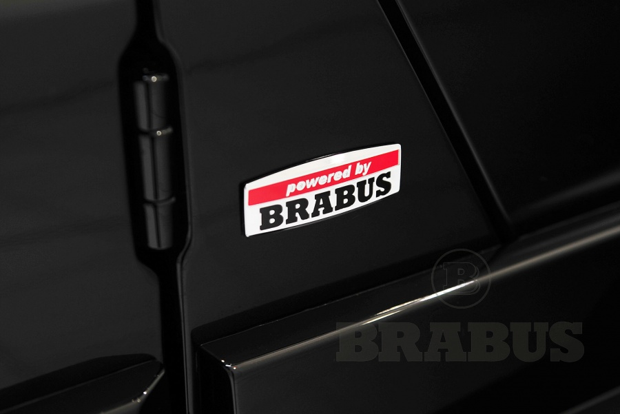 Лого Powered by Brabus